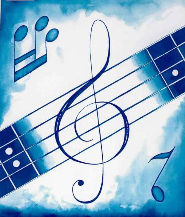 A música pode ensinar, revisar ou introduzir vocabulário e gramática.