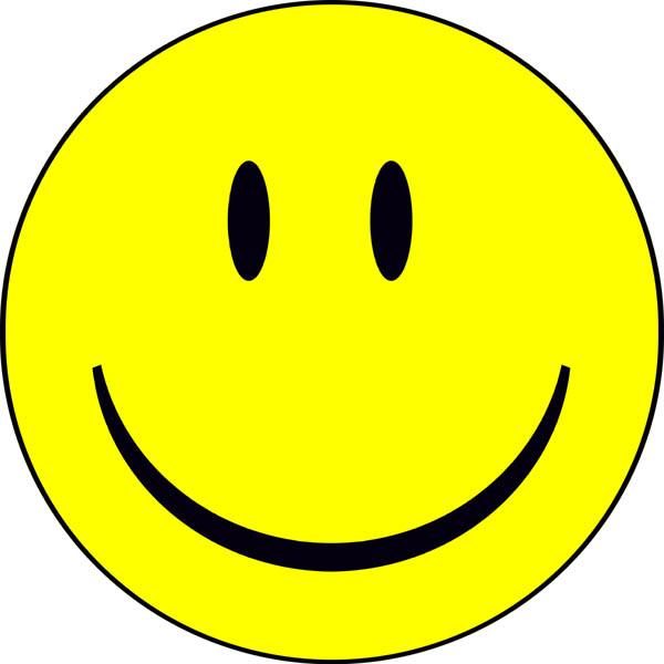"""Esse símbolo já é praticamente universal e será imediatamente reconhecido pelos alunos, associando-o ao conceito """"happy""""."""