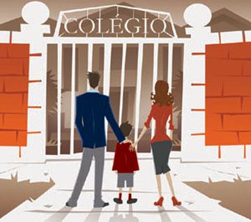 A família tem que participar da vida escolar da criança.