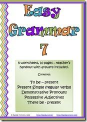 Capa easy grammar 7