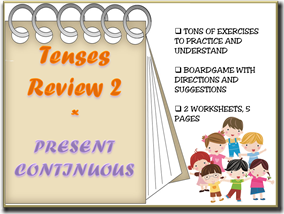 tenses review 2 capa